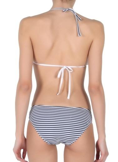 Miorre Fırfırlı Bikini Lacivert